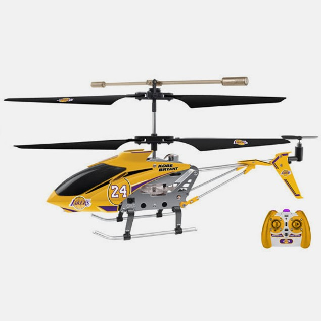 NBA 3.5CH RC Helicopter - Multiple Colors / Teams