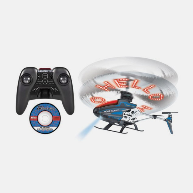 3.5 Ch Gyro Sky Messenger Writing IR Helicopter