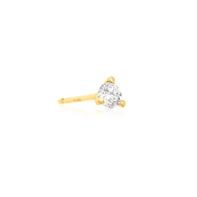 Martini Diamond Stud Earrings 1/4cttw