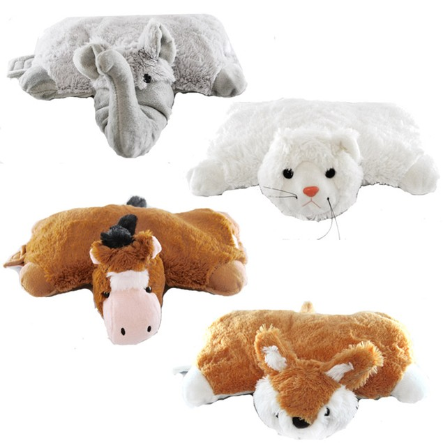 Pillow Cuddlers Plush Pet and Pillow