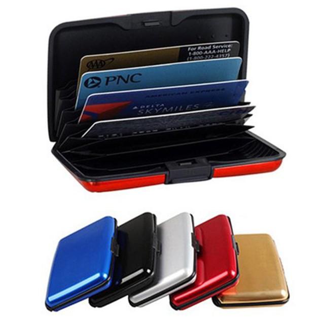 2-Pack Aluminum Blocking Credit Card Wallet Case