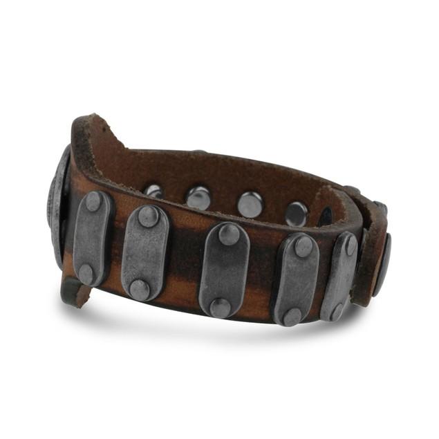 Octavius Antique Style Skull Bracelet