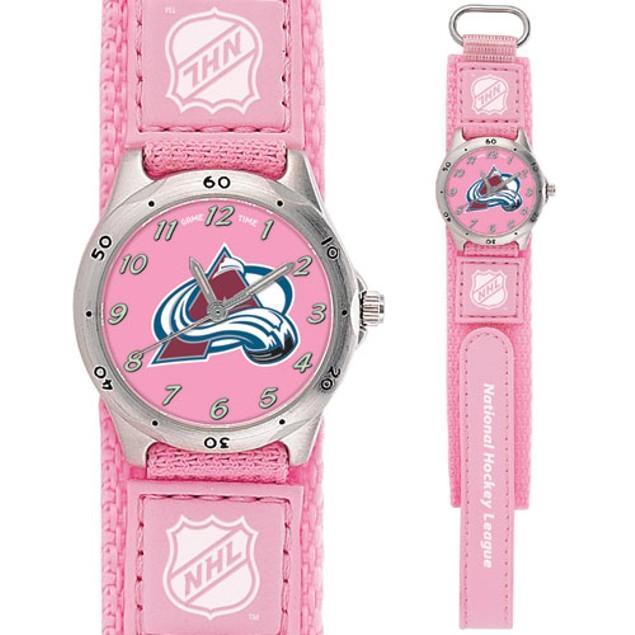Colorado Avalanche NHL Girls Watch