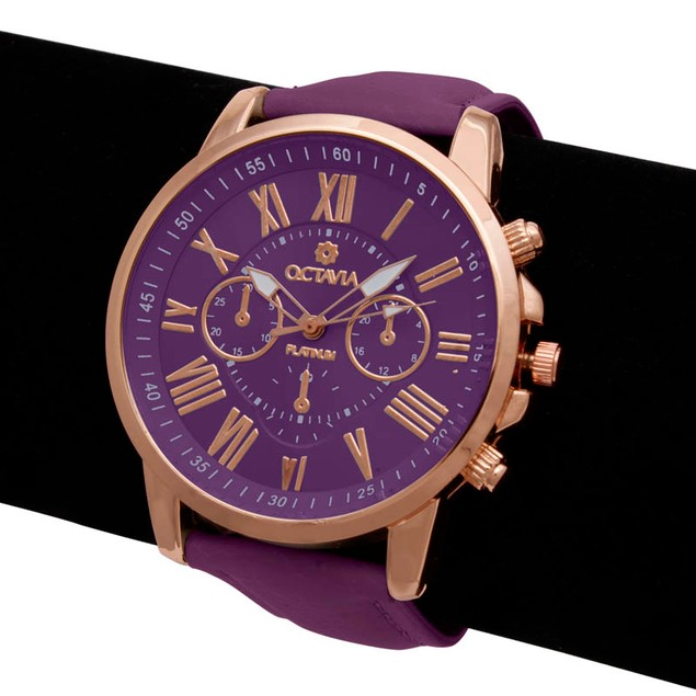 Octavia Toscana Watch - Purple