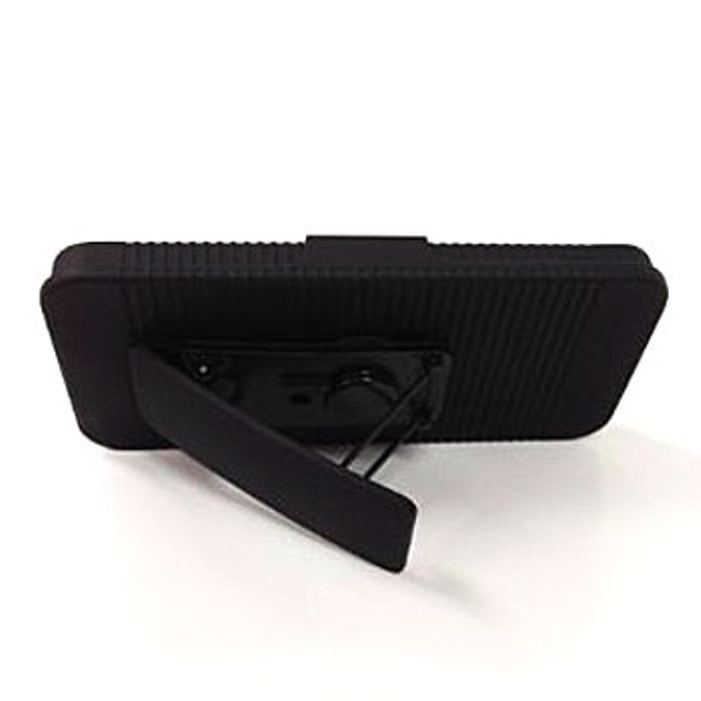 iPhone 5 Shell & Holster Combo with Built-In-Kickstand