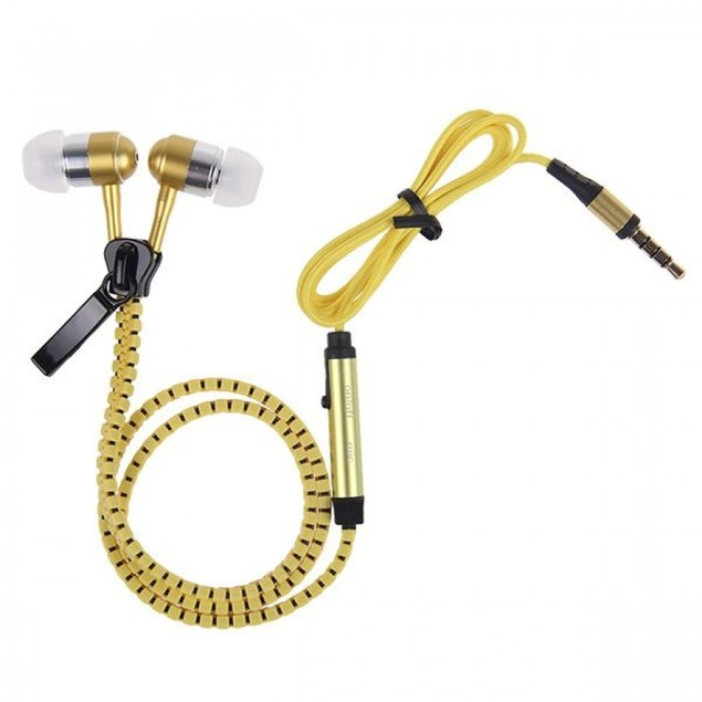 2-Pack Zipper Headphones