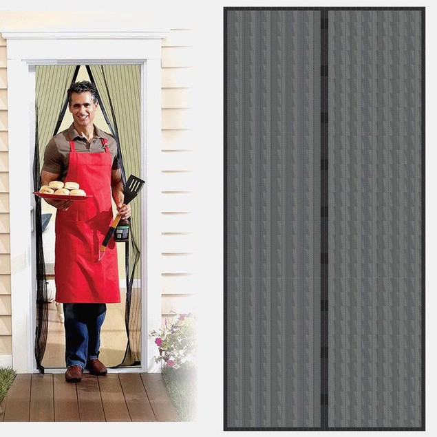 Auto Open and Close Magnetic Screen Door