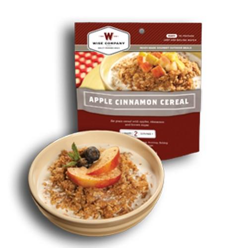 Wise Foods Outdoor Meals - 6-Pack Apple Cinnamon Cereal