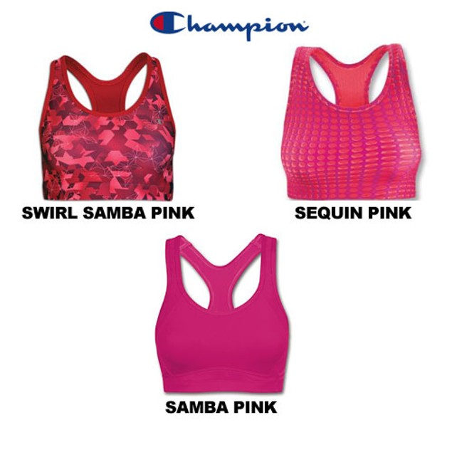 3-Pack Champion: Medium Control Absolute Work-out Wire-Free Sports Bra