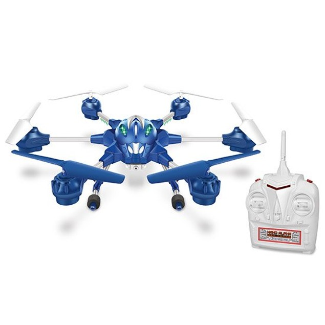 Nano Alpha 6-Rotor 2.4GHz 4.5CH Camera Spy Drone