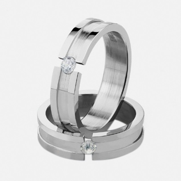 Stainless Steel Ring - Solo