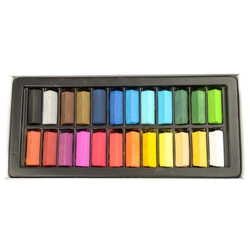 Smart Color EZ-Off Hair Chalk - 24 Assorted Colors