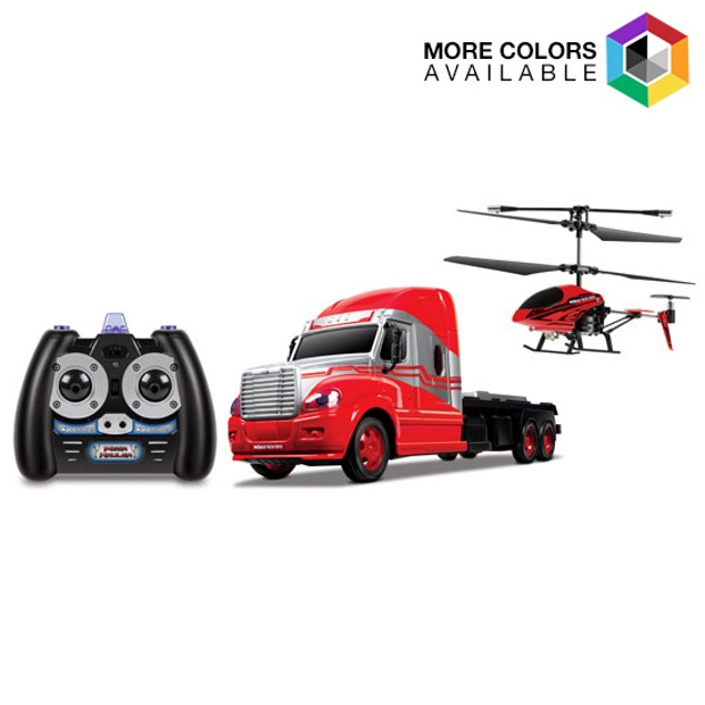 3.5ch Mega Hauler Helicopter & Truck Combo