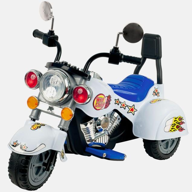 Lil' Rider White Knight Motorcycle - 3 Wheeler