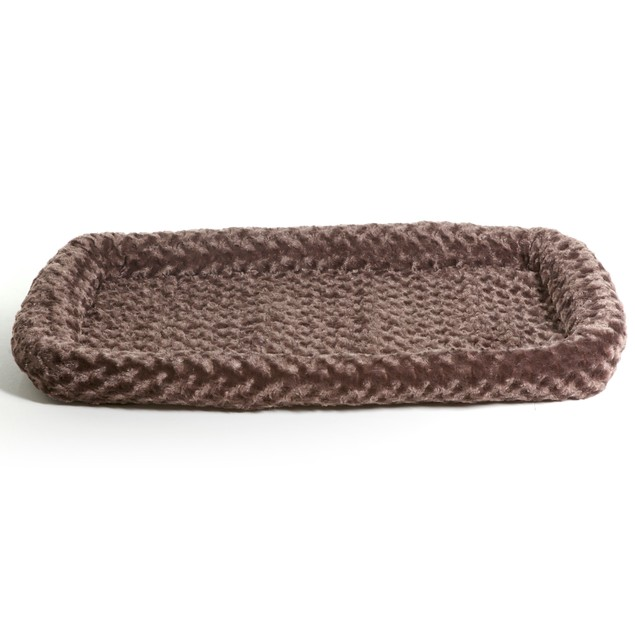 Furhaven Ultra Plush Bolster Pet Bed