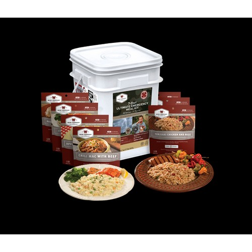 Wise Foods 7 Day Ultimate Emergency Meal Kit