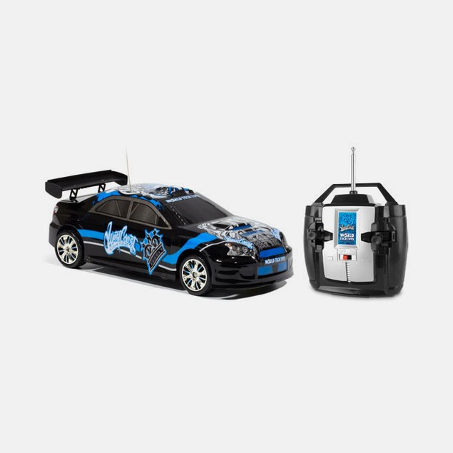 West Coast Customs Black Tuner Style 1:18 RC Car