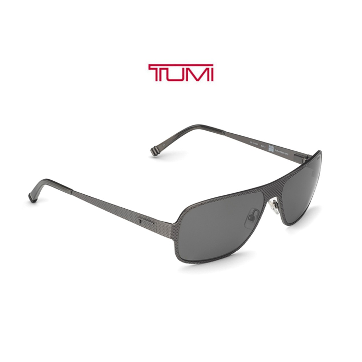258ccde3ca2 Tumi Brooklyn Gun Metal Polarized Sunglasses - Tanga