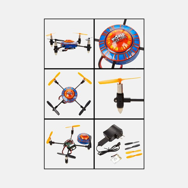 X-Quad 2.4GHz 4.5CH Gyro Electric RTR RC Quadcopter