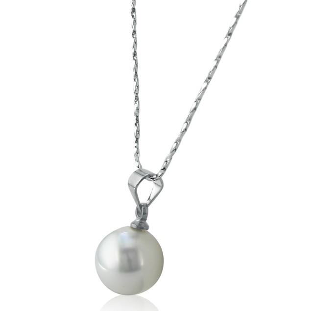12mm Shell Single Pearl Pendant