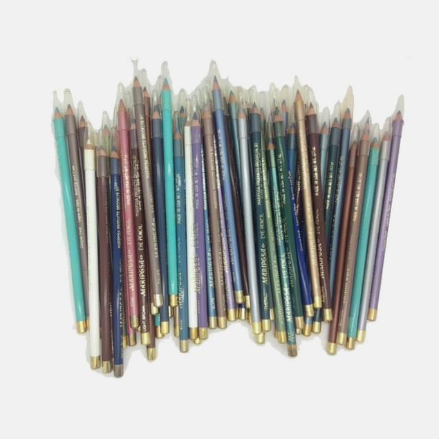 40pc Waterproof Eye Pencil/Lip Set - Made in USA
