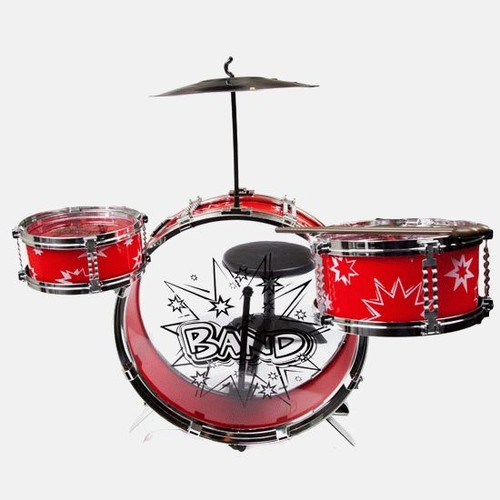 World Tech Toys Big Band Drum Set