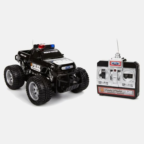 Licensed Ford F-150 Electric RTR RC Police Truck