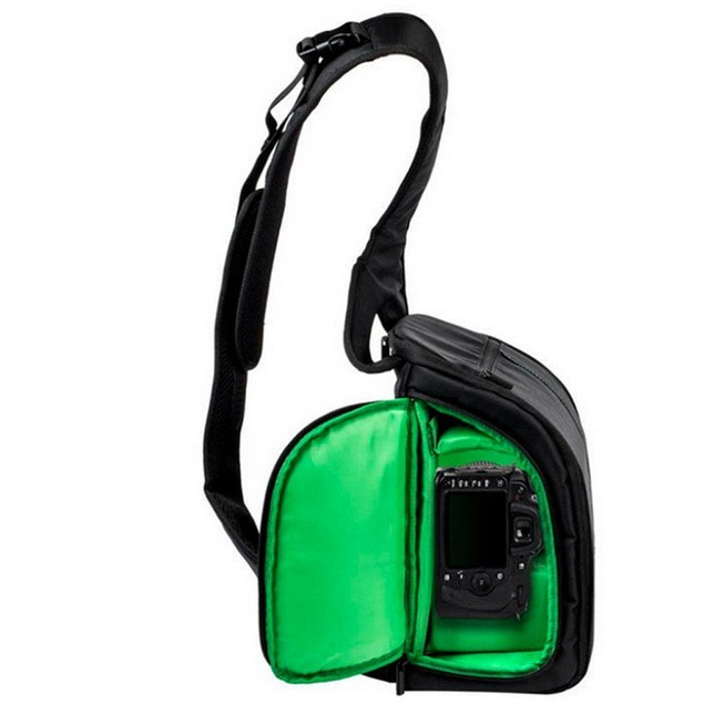 Sling Camera Bag Waterproof DSLR Case for Canon, Nikon, or Sony Cameras